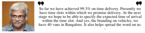 Hari Menon, Big Basket, Bangalore startups