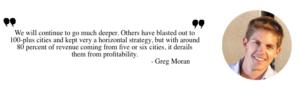 Zoomcar Greg Moran, Bangalore startups