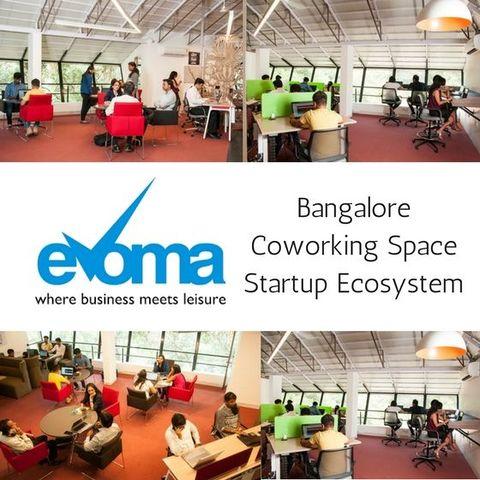 Evoma coworking space Bangalore