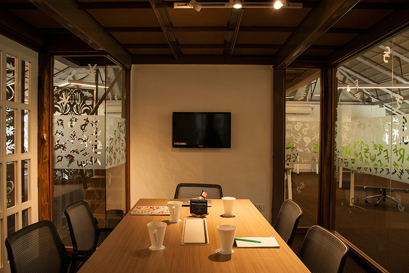 Evoma Whitefield meeting room