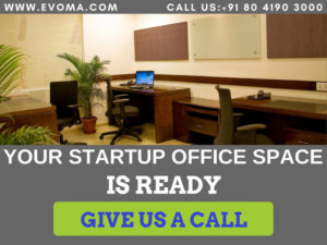 Startup office space Evoma