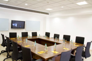 Evoma boardroom in Bangalore