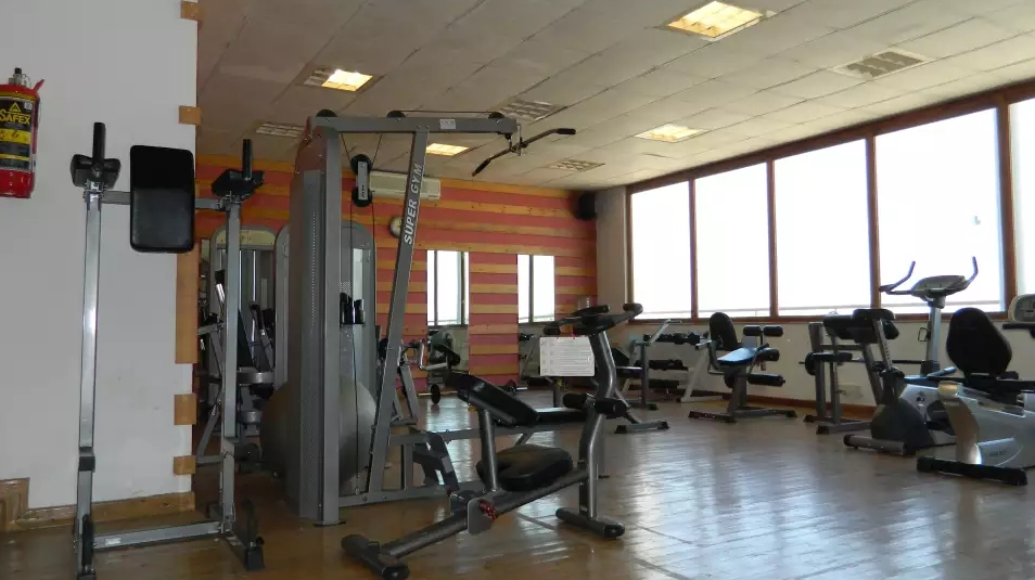 Evoma Bangalore office gym