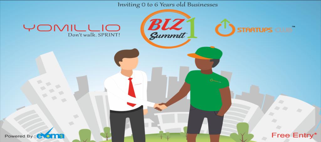 Yomillio Startups Club Biz Summit at Evoma