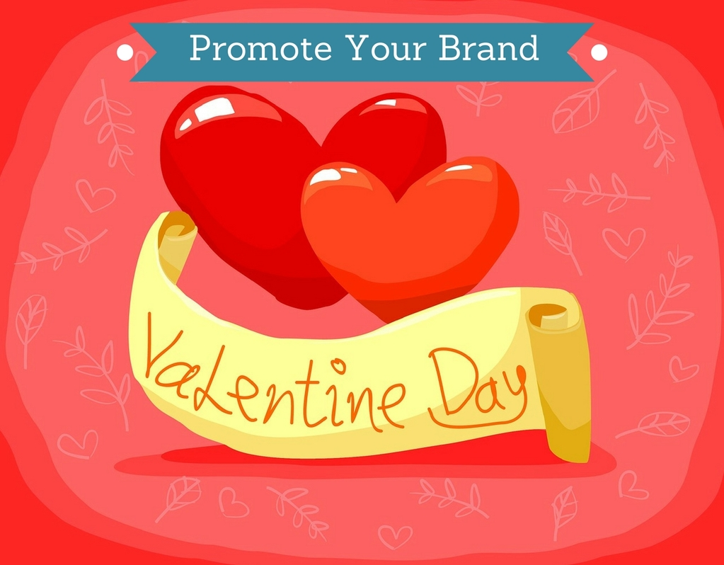 valentine day brand promotion