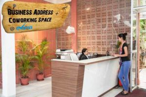 Business address and coworking space at Evoma