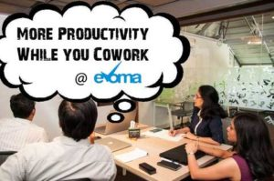 Increase productivity at Evoma coworking space