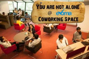 No startup loneliness at Evoma coworking space