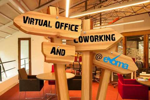 Virtual office benefits at Evoma coworking space