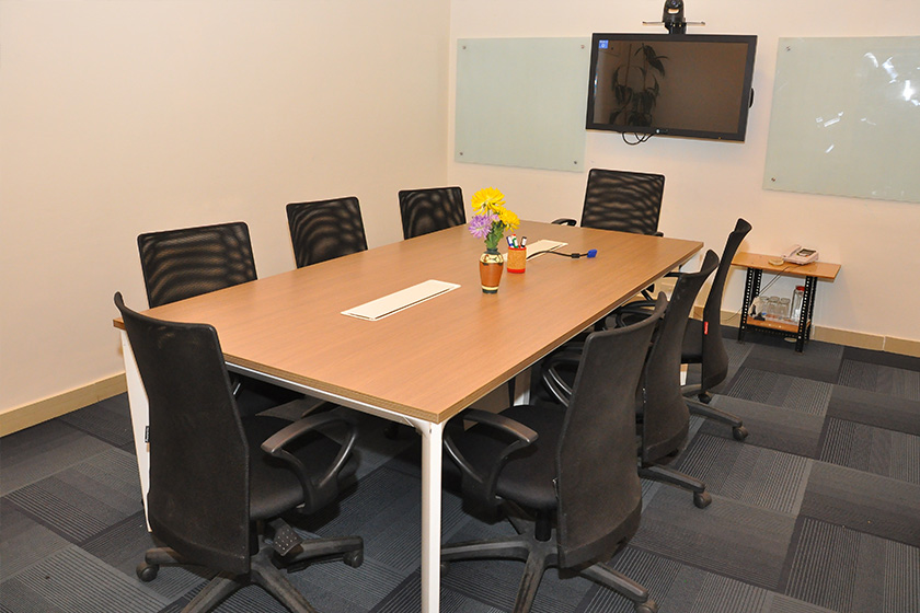 Evoma Borewell raod board room