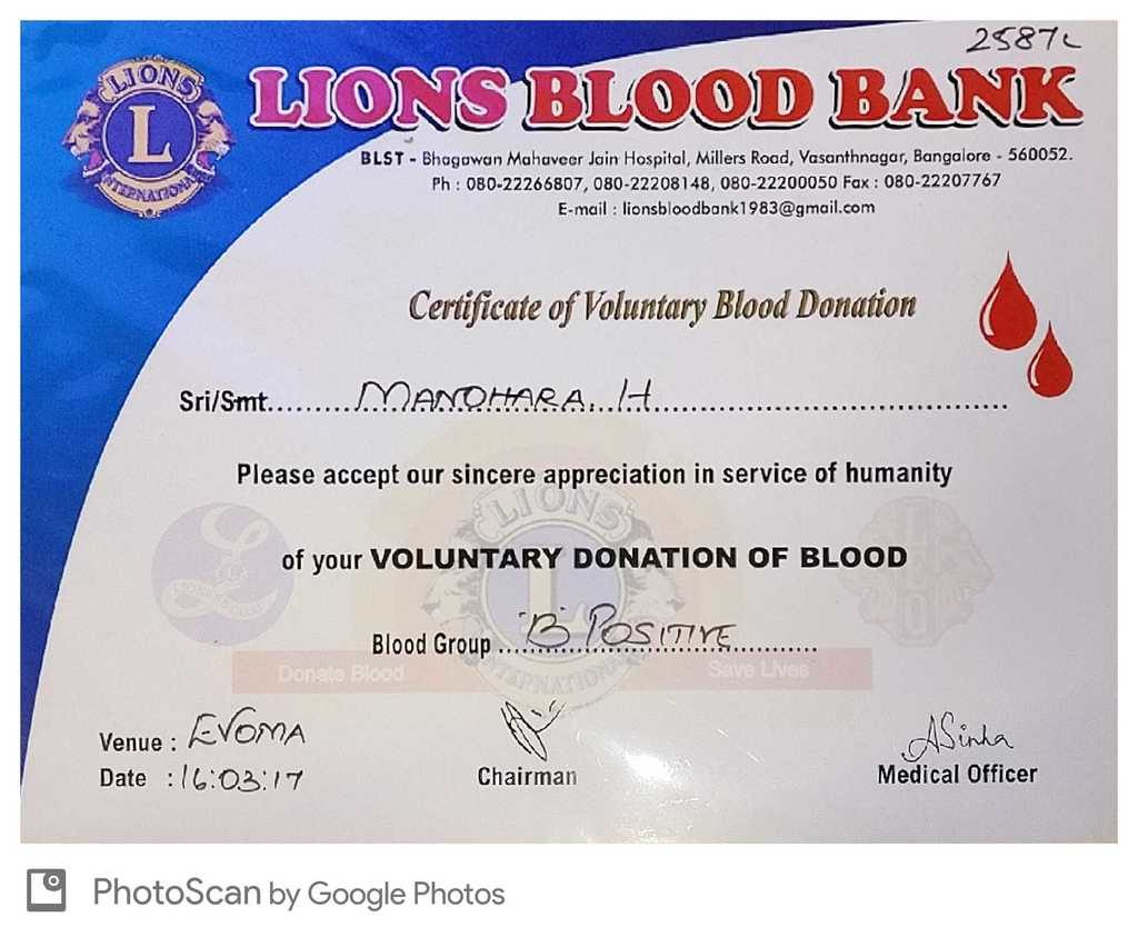 Blood Donation Camp In Bangalore At Evoma Omr Evoma
