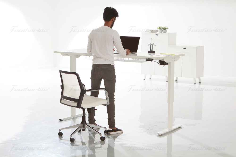office furniture - Ergonomic height adjustable desk - standing