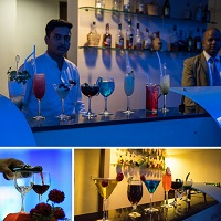 UV Bar at evoma bangalore