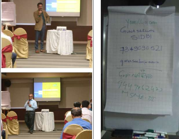 evoma event - government funding loans from sidbi and msme di