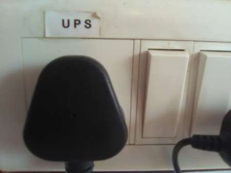 UPS power supply at Evoma office space bangalore